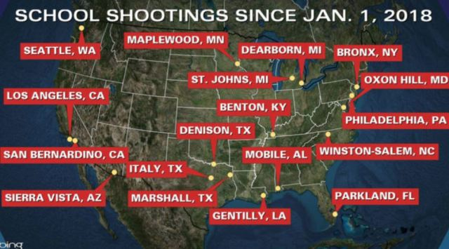 18 shootings